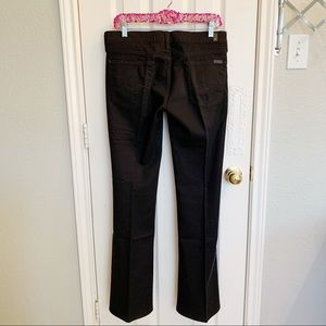 7 For All Mankind Jeans - NWOT 7FAM Black Bootcut Flare Leg Jeans Mid Rise